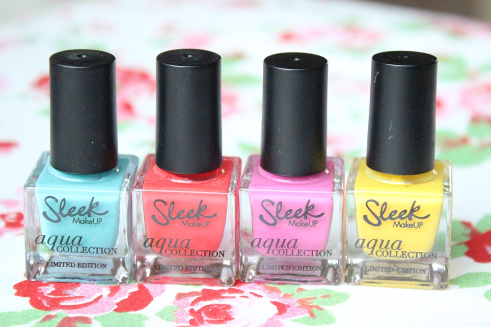 Review Sleek MakeUP Deep Waves Nail Polish Set