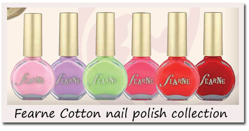 Review Fearne Cotton Nail Polishes Uk Fashion Blog