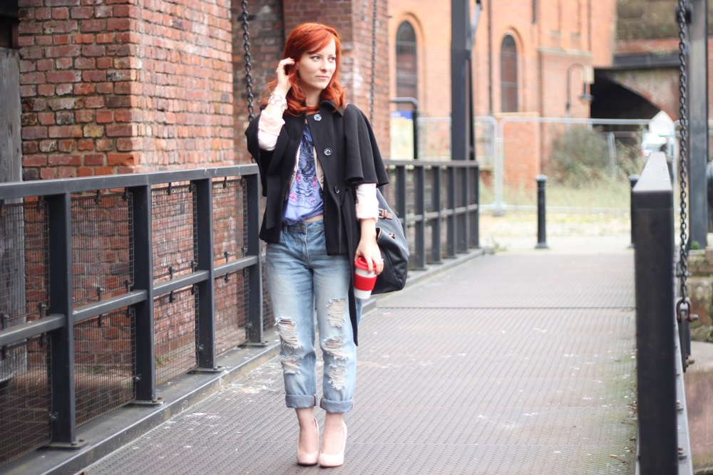Outfit Boyfriend Jeans x Cropped Tee (07)