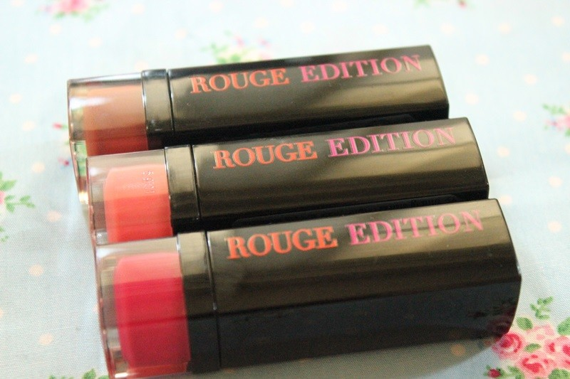 Review Bourjois Rouge Edition Lipsticks (01)