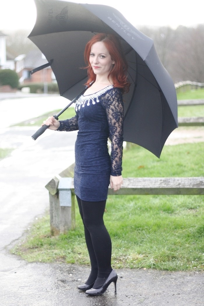 Outfit Navy Lace Dress (5)