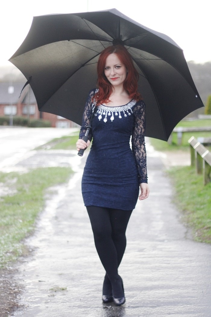 Outfit Navy Lace Dress (6)