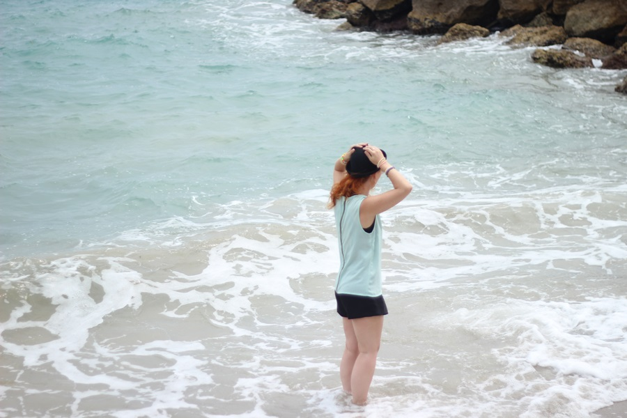 Outfit I Swam In The Med!!! (06)