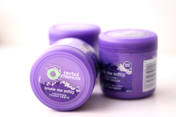 Review Herbal Essences Tousle Me Softly Finishing Touch Cream